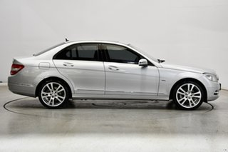 2011 Mercedes-Benz C-Class W204 MY11 C250 BlueEFFICIENCY 7G-Tronic + Avantgarde Silver 7 Speed