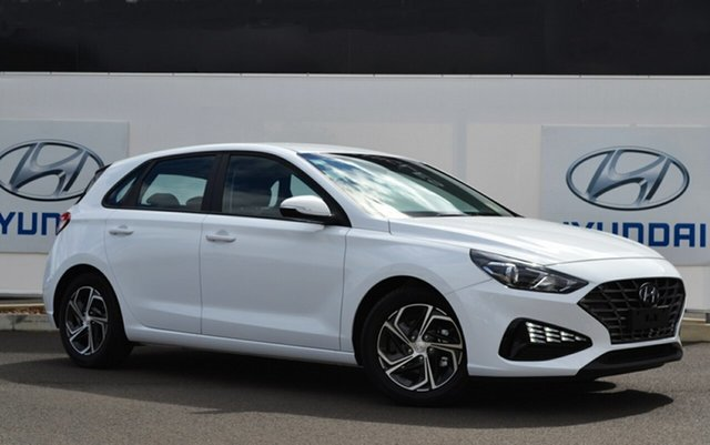 New Hyundai i30 PD.V4 MY21 Active Warwick, 2021 Hyundai i30 PD.V4 MY21 Active Polar White 6 Speed Automatic Hatchback