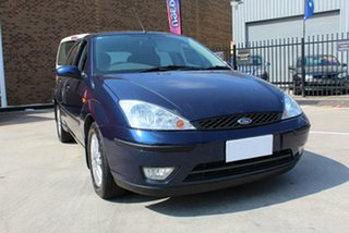 2004 Ford Focus LR SR Blue 4 Speed Automatic Hatchback
