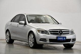 2011 Mercedes-Benz C-Class W204 MY11 C250 BlueEFFICIENCY 7G-Tronic + Avantgarde Silver 7 Speed.