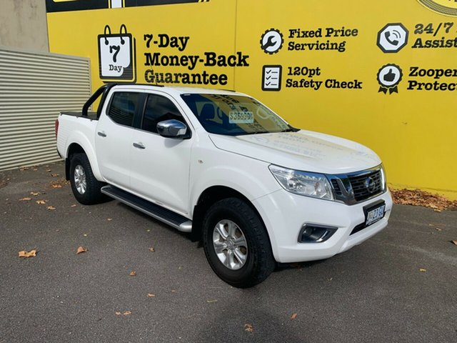 Used Nissan Navara D23 S3 ST Launceston, 2017 Nissan Navara D23 S3 ST White 7 Speed Sports Automatic Utility