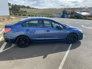 2013 Subaru Impreza G4 MY13 2.0i Lineartronic AWD Blue 6 Speed Constant Variable Sedan