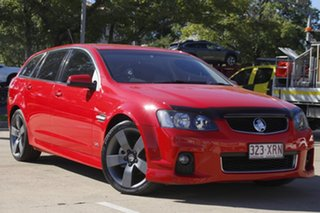 2013 Holden Commodore VE II MY12.5 SV6 Sportwagon Z Series Red 6 Speed Sports Automatic Wagon.