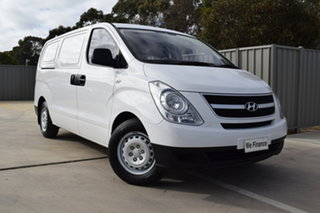 2014 Hyundai iLOAD TQ2-V MY14 Crew Cab White 5 Speed Automatic Van.