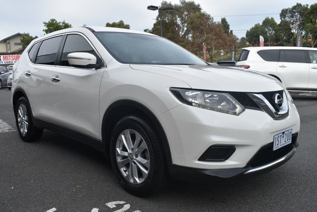 Used Nissan X-Trail T32 ST X-tronic 4WD Wantirna South, 2014 Nissan X-Trail T32 ST X-tronic 4WD White 7 Speed Constant Variable Wagon