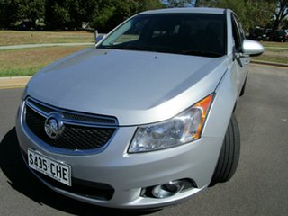 2013 Holden Cruze JH MY13 CD Equipe Silver 6 Speed Automatic Sedan