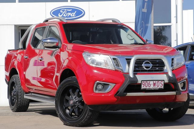 Used Nissan Navara D23 ST-X 4x2 Beaudesert, 2016 Nissan Navara D23 ST-X 4x2 Red 7 Speed Sports Automatic Utility