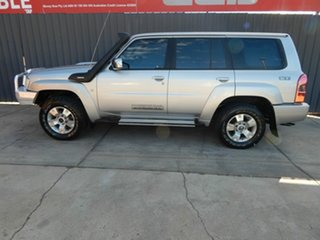 2011 Nissan Patrol GU 7 MY10 ST Silver 5 Speed Manual Wagon