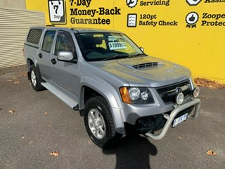 2010 Holden Colorado RC MY11 LX-R Crew Cab Silver 5 Speed Manual Utility.