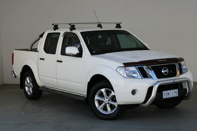Used Nissan Navara D40 S6 MY12 ST Phillip, 2012 Nissan Navara D40 S6 MY12 ST 6 Speed Manual Utility