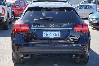 2017 Mercedes-Benz GLA-Class X156 807MY GLA220 d DCT Black 7 Speed Sports Automatic Dual Clutch