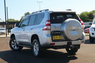 2014 Toyota Landcruiser Prado KDJ150R MY14 GXL Silver 5 Speed Sports Automatic SUV.