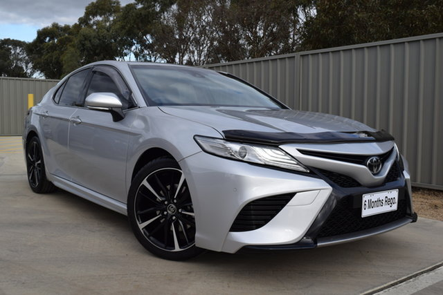 Used Toyota Camry GSV70R SX Echuca, 2019 Toyota Camry GSV70R SX Silver 8 Speed Sports Automatic Sedan