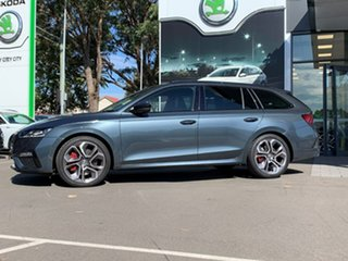 2021 Skoda Octavia NX MY21 RS DSG Grey 7 Speed Sports Automatic Dual Clutch Wagon
