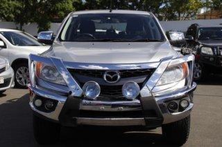 2012 Mazda BT-50 UP0YF1 XTR Silver 6 Speed Sports Automatic Utility.