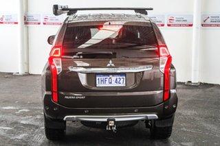 2016 Mitsubishi Pajero Sport QE Exceed (4x4) Brown 8 Speed Automatic Wagon