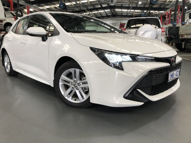 Pre-Owned Toyota Corolla Mzea12R Ascent Sport Oakleigh, 2018 Toyota Corolla Mzea12R Ascent Sport Glacier White 10 Speed Constant Variable Hatchback