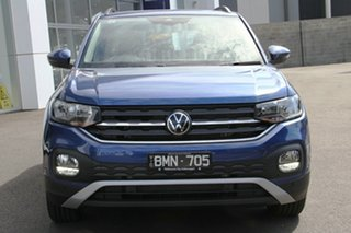2021 Volkswagen T-Cross C1 MY21 85TSI DSG FWD Life Blue 7 Speed Sports Automatic Dual Clutch Wagon