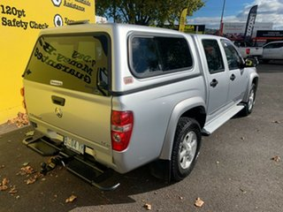 2010 Holden Colorado RC MY11 LX-R Crew Cab Silver 5 Speed Manual Utility