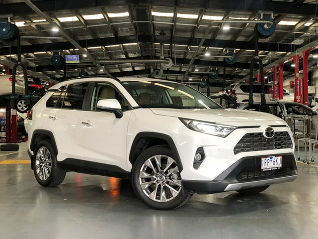 Pre-Owned Toyota RAV4 Mxaa52R Cruiser 2WD Oakleigh, 2020 Toyota RAV4 Mxaa52R Cruiser 2WD Glacier White 10 Speed Constant Variable Wagon