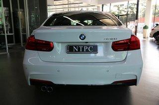 2017 BMW 3 Series F30 LCI 330i M Sport White 8 Speed Sports Automatic Sedan