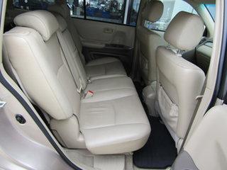 2003 Toyota Kluger MCU28R CV AWD Gold 5 Speed Automatic Wagon