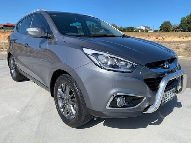 Used Hyundai ix35 LM3 MY14 Trophy AWD Victor Harbor, 2013 Hyundai ix35 LM3 MY14 Trophy AWD Grey 6 Speed Sports Automatic Wagon