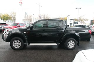2015 Mitsubishi Triton MN MY15 GLX Double Cab Black 5 Speed Manual Utility