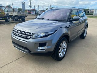 2014 Land Rover Range Rover Evoque L538 MY14 Pure Grey/280314 9 Speed Sports Automatic Wagon