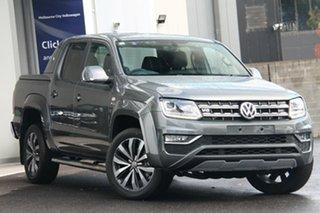 2020 Volkswagen Amarok 2H MY21 TDI580 4MOTION Perm Aventura Grey 8 Speed Automatic Utility.