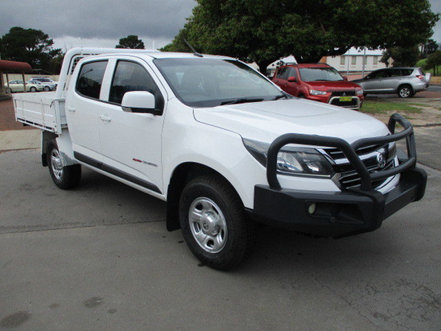 Used Holden Colorado RG Katanning, 2017 Holden Colorado RG LS 4x4 White 6 Speed Automatic Dual Cab