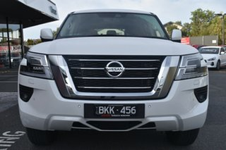 2020 Nissan Patrol Y62 Series 5 MY20 TI White 7 Speed Sports Automatic Wagon
