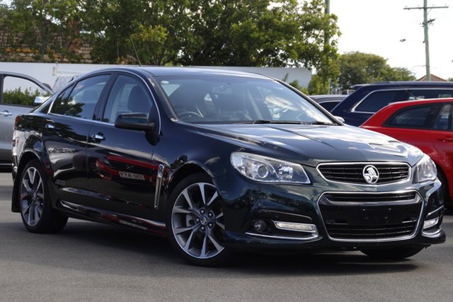 Used Holden Commodore VF MY14 SS V Mount Gravatt, 2013 Holden Commodore VF MY14 SS V Green 6 Speed Sports Automatic Sedan