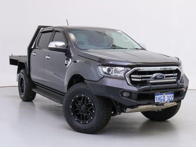 Used Ford Ranger PX MkIII MY19 XLT 2.0 (4x4), 2019 Ford Ranger PX MkIII MY19 XLT 2.0 (4x4) Grey 10 Speed Automatic Double Cab Pick Up