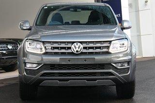 2020 Volkswagen Amarok 2H MY21 TDI580 4MOTION Perm Aventura Grey 8 Speed Automatic Utility