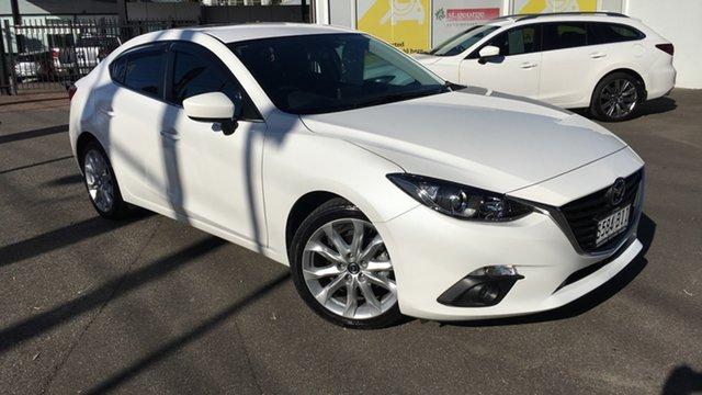 Used Mazda 3 BM5238 SP25 SKYACTIV-Drive Paradise, 2015 Mazda 3 BM5238 SP25 SKYACTIV-Drive White 6 Speed Sports Automatic Sedan