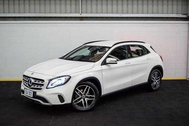 Used Mercedes-Benz GLA-Class X156 808+058MY GLA180 DCT Canning Vale, 2018 Mercedes-Benz GLA-Class X156 808+058MY GLA180 DCT White 7 Speed Sports Automatic Dual Clutch
