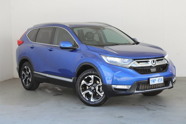 Used Honda CR-V RW MY18 VTi-LX 4WD Phillip, 2017 Honda CR-V RW MY18 VTi-LX 4WD Blue 1 Speed Constant Variable Wagon