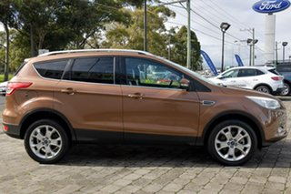 2013 Ford Kuga TF Trend PwrShift AWD Brown 6 Speed Sports Automatic Dual Clutch Wagon.