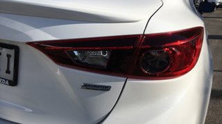 2015 Mazda 3 BM5238 SP25 SKYACTIV-Drive White 6 Speed Sports Automatic Sedan