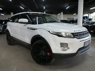 2012 Land Rover Range Rover Evoque L538 MY12 Si4 CommandShift Pure White 6 Speed Sports Automatic.