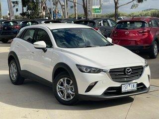 2021 Mazda CX-3 DK2W7A Maxx SKYACTIV-Drive FWD Sport Snowflake White Pearl 6 Speed Sports Automatic.