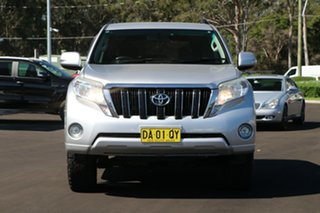 2014 Toyota Landcruiser Prado KDJ150R MY14 GXL Silver 5 Speed Sports Automatic SUV