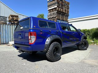2012 Ford Ranger PX XL Blue 6 Speed Manual Cab Chassis.