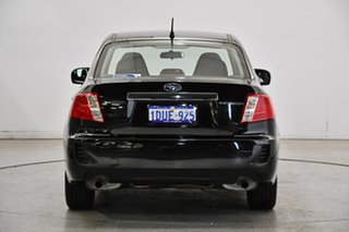 2011 Subaru Impreza G3 MY11 R AWD Special Edition Black 4 Speed Sports Automatic Sedan