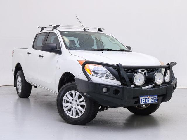 Used Mazda BT-50 MY13 XT (4x4), 2013 Mazda BT-50 MY13 XT (4x4) White 6 Speed Automatic Dual Cab Utility