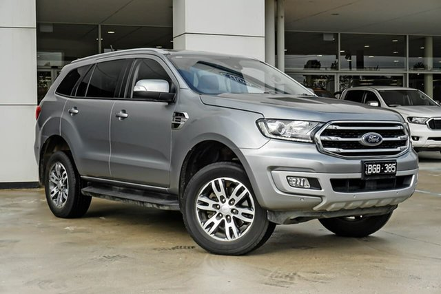 Used Ford Everest UA II 2019.75MY Trend Oakleigh, 2019 Ford Everest UA II 2019.75MY Trend Silver 10 Speed Sports Automatic SUV