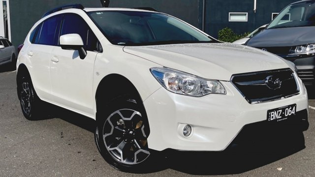 Used Subaru XV G4X MY13 2.0i-L Lineartronic AWD Moorabbin, 2012 Subaru XV G4X MY13 2.0i-L Lineartronic AWD White 6 Speed Constant Variable Wagon