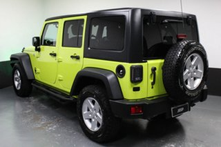 2016 Jeep Wrangler JK MY2016 Unlimited Sport Green 6 Speed Manual Softtop
