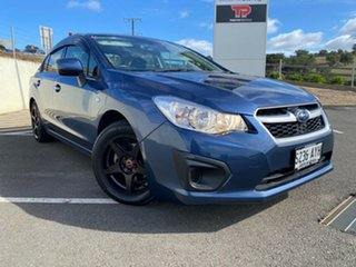2013 Subaru Impreza G4 MY13 2.0i Lineartronic AWD Blue 6 Speed Constant Variable Sedan.